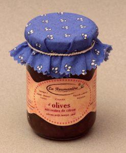 Confit d'Olives aux Zestes de Citron 240g