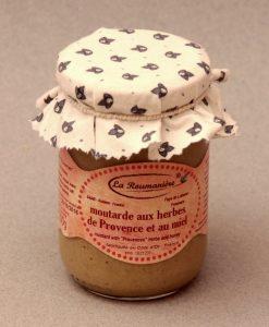 Moutarde au Miel et aux Herbes de Provence 200g