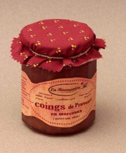 Confiture de Coings de Provence en morceaux 335g