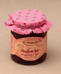 Confiture de Rhubarbe aux pruneaux 335g