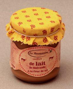 Confiture de Lait à la Fleur de sel de Guérande 250g