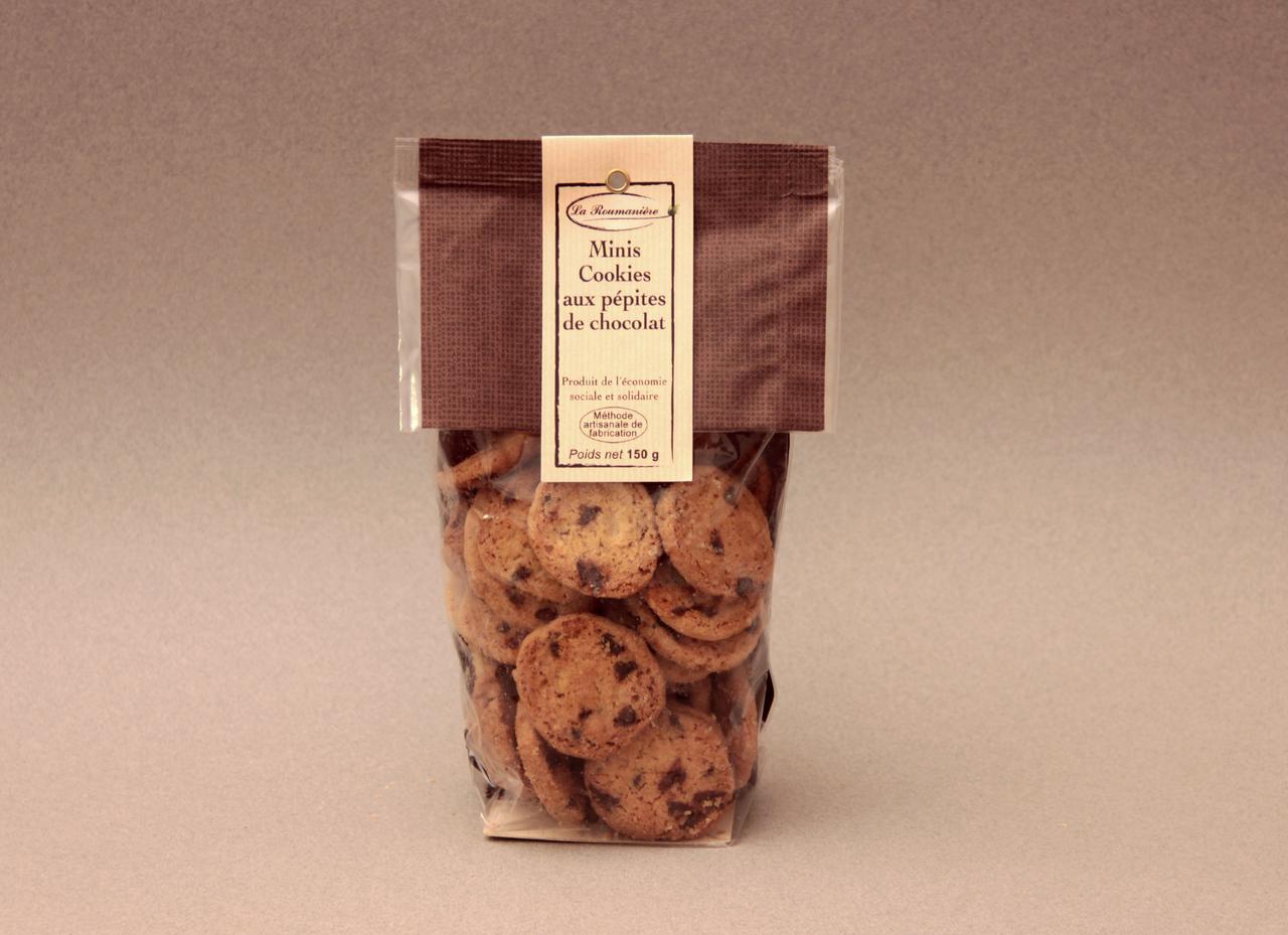 Minis Cookies aux Pépites de Chocolat