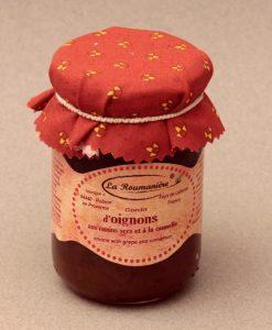 Confit d'Oignons, aux Raisins secs et à la Cannelle 250g