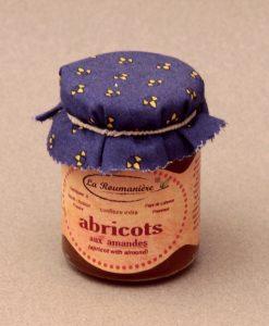 Confiture d'Abricots aux Amandes 125g