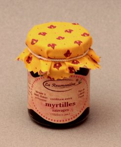 Confiture de Myrtilles sauvages 125g