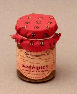Confiture de Pastèques citron vanille 125g