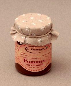 Confiture de Pommes au Caramel 125g