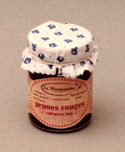 Confiture de Prunes rouges 125g