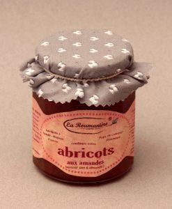 Confiture d'Abricots aux Amandes 335g