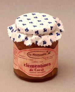 Confiture de Clémentines de Corse 335g