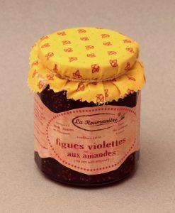 Confiture de figues violettes aux amandes