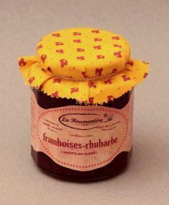 Confiture de Framboise à la Rhubarbe 335g