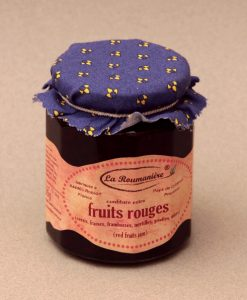 Confiture aux fruits rouges 335g