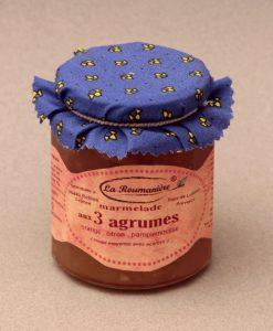 Marmelade aux trois agrumes 335g