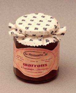 Crème de Marrons à l'orange 335g