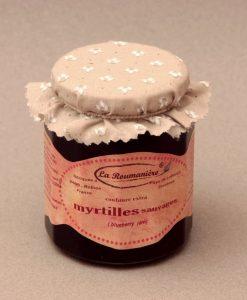 Confiture de Myrtilles sauvages 335g