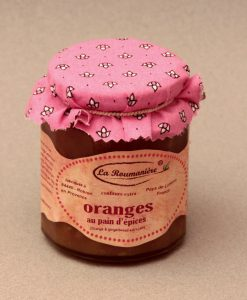 Confiture d'Oranges au Pain d'épice 335g
