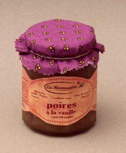 Confiture de Poires à la vanille 335g