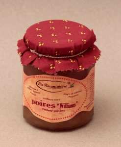 Confiture de Poires Williams 335g